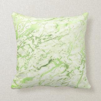 Abstraktes tadelloses grünes Grün-Girly Kissen