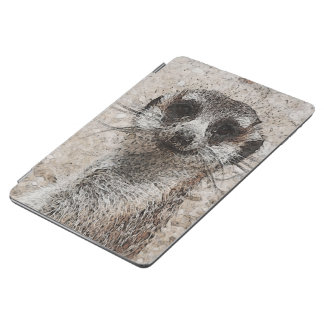 abstraktes Tier - Meerkat iPad Air Hülle