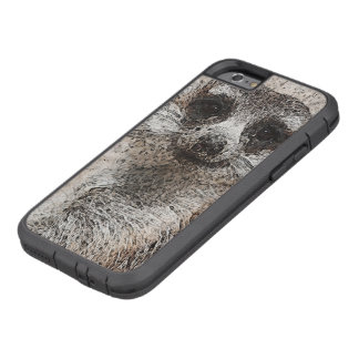 abstraktes Tier - Meerkat Tough Xtreme iPhone 6 Hülle