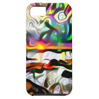 Abstraktes Ufer Tough iPhone 5 Hülle
