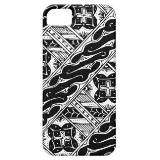 Abstraktes und verziertes klassisches Muster Hülle Fürs iPhone 5