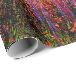 Abstraktes Verpackungs-Papier der Kunst-81 Geschenkpapierrolle