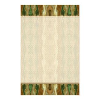 Abstraktes vertikales gestreiftes Muster Briefpapier