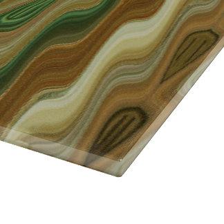 Abstraktes vertikales gestreiftes Muster Schneidebrett