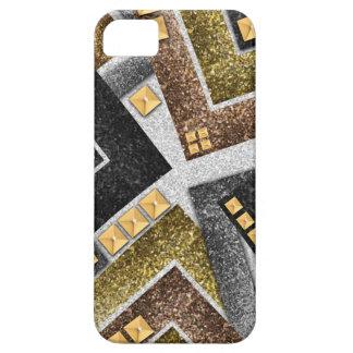 Abstraktes verziertes Glittermuster Schutzhülle Fürs iPhone 5