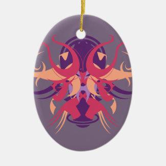 Abstraktion acht Dolos Keramik Ornament