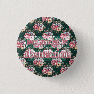 Abstraktion Runder Button 3,2 Cm