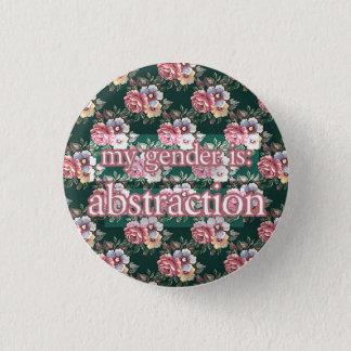 Abstraktion Runder Button 3,2 Cm
