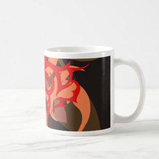 Abstraktion sechs Ares Kaffeetasse
