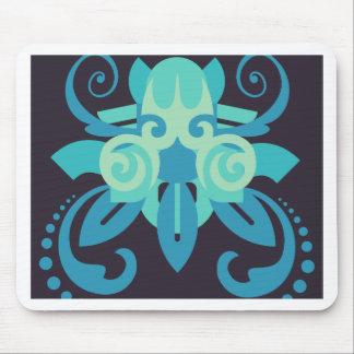 Abstraktion zwei Poseidon Mauspads