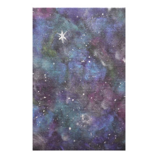 Abstraktions-Artmalerei der Galaxie-Träume Briefpapier