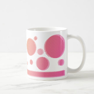 Abstufung in der Farbe (orange→pink) Kaffeetasse