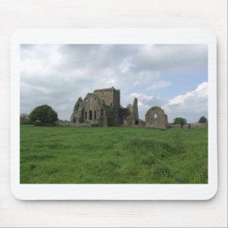 Abtei-Iren Irlands Hore ruinieren Felsen von Mauspads