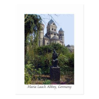 Abtei Maria Laach, Eifel, Deutschland Postkarte