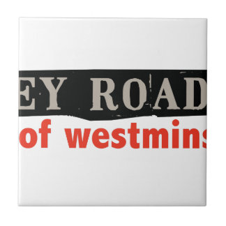 Abtei-Straße Westminster Fliese