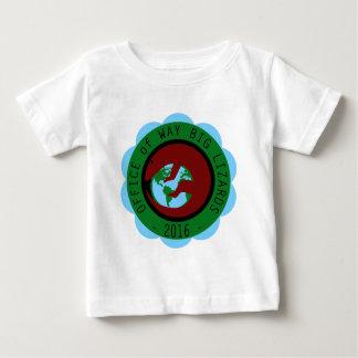 Abteilung der Weisen-großen Eidechsen Baby T-shirt