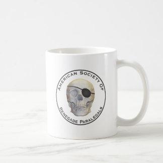 Abtrünnige Rechtsassistenten Kaffeetasse