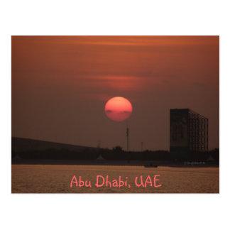 Abu Dhabi Postkarte