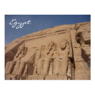 abu simbel Ägypten Postkarte