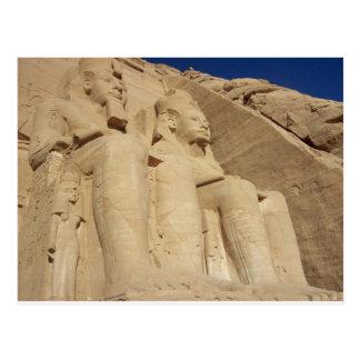 Abu Simbel Tempel Ägypten Postkarte