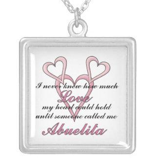 Abuelita (ich wusste nie), Halskette Mutter Tages