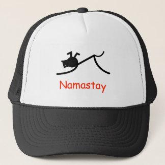 Abwärts Hund Namastay Truckerkappe