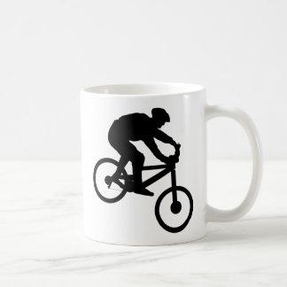 Abwärts Kaffeetasse