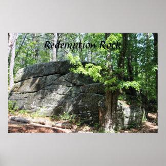 Abzahlungs-Felsen-Massachusetts-Plakat-Druck Poster