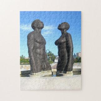 Abzahlungs-Statue Jamaika Puzzle
