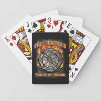 Abzeichen der Ehre Spielkarten