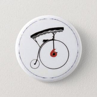 Abzeichen der Nr.-6 Runder Button 5,7 Cm