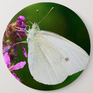 Abzeichen mit Schmetterling Runder Button 15,3 Cm