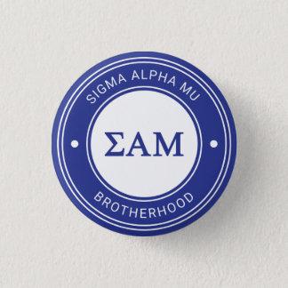 Abzeichen Sigma-Alpha-MU | Runder Button 3,2 Cm