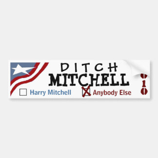 Abzugsgraben Mitchell Autoaufkleber