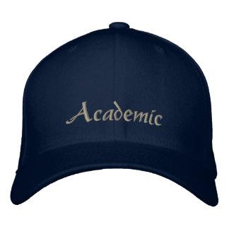 Academic gestickter Baseballmütze-Licht-Stich Bestickte Kappe