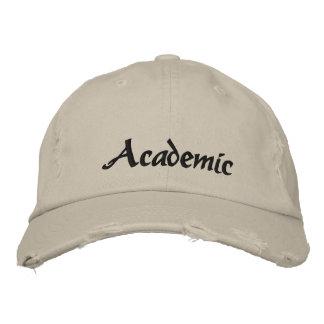 Academic gestickter bestickte kappe