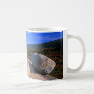 Acadia-Blasen-Felsen Kaffeetasse