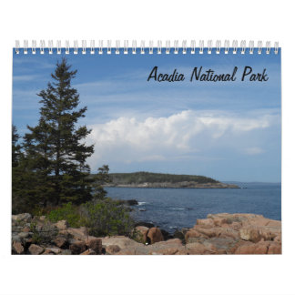 Acadia-Nationalpark 2018 Kalender