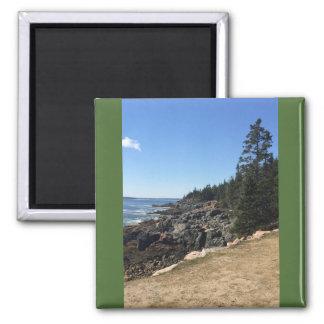Acadia-Nationalpark, Maine-Magnet Quadratischer Magnet