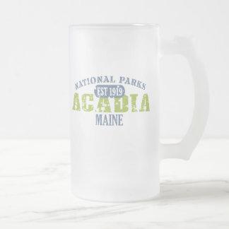 Acadia-Nationalpark Mattglas Bierglas