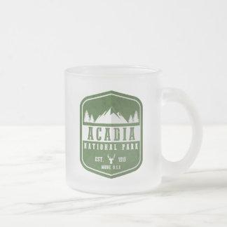 Acadia-Nationalpark Mattglastasse