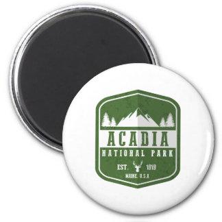 Acadia-Nationalpark Runder Magnet 5,7 Cm