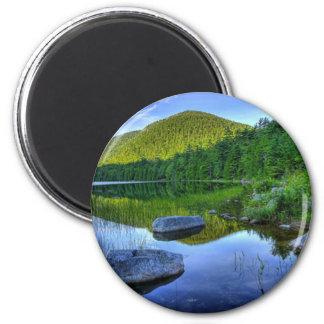 Acadia-Nationalpark - runder Magnet Maines