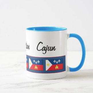 Acadiana Cajun Flagge Tasse