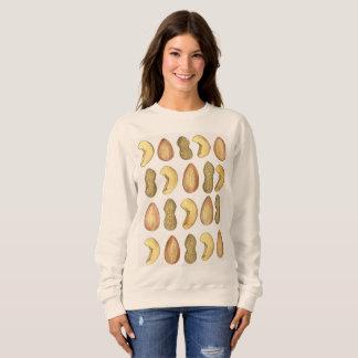 Acajoubaum-Mandel-Erdnuss-Nuss-Nuts Sweatshirt