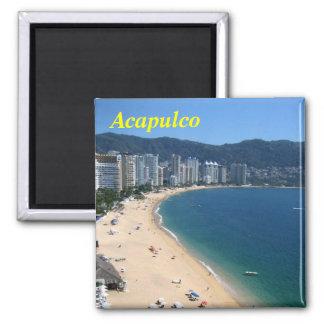 Acapulco-Magnet Quadratischer Magnet