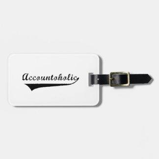 Accountoholic Gepäckanhänger