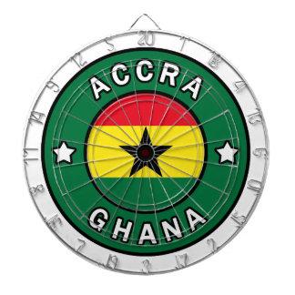 Accra Ghana Dartscheibe