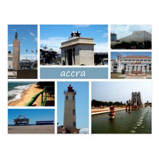 Accra-Postkarte Postkarte