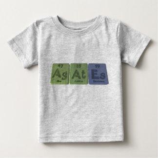 Achat-AG-An-Es-Silber-Astatin-Einsteinium Baby T-shirt